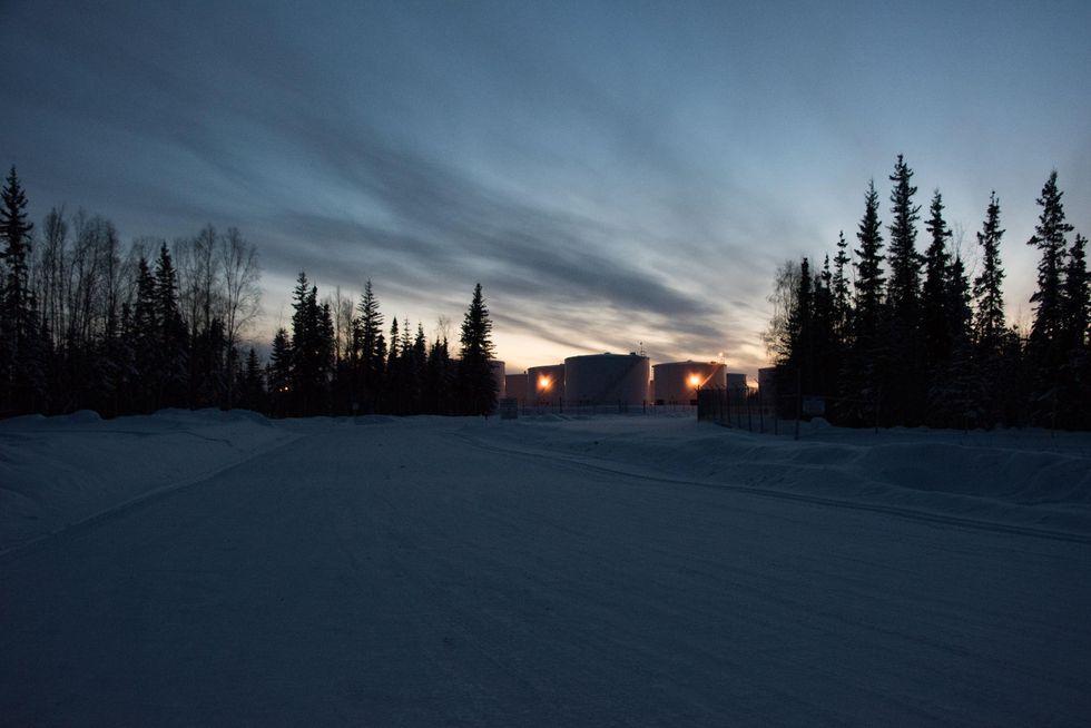 alaska oil refinery