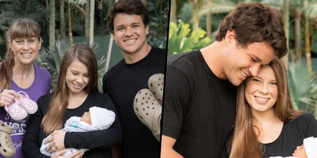 Bindi Irwin and Family Share April Fools' Day Photo of Baby Grace's 'First Croc Encounter'