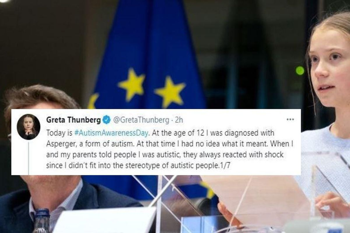 Greta Thunberg celebrates Autism Awareness Day by proudly calling it her 'gift'