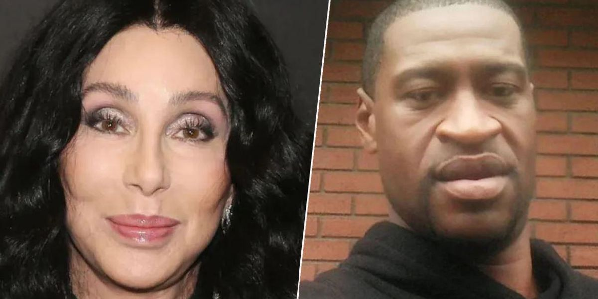 Cher Under Fire for Controversial George Floyd Tweet