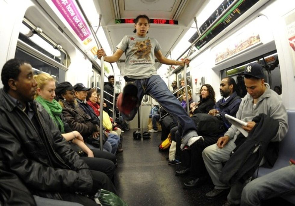 """Watch a Documentary About NYC's """"Showtime!"""" Subway Dancers"""