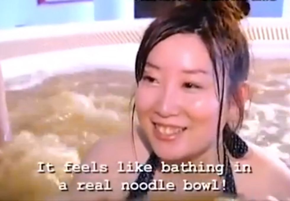 Ramen Baths Are Japan's Secret to Smooth Skin