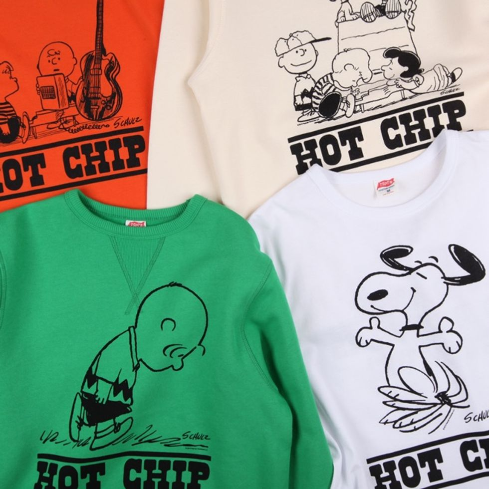 Hot Chip Unveil Vintage-Inspired Peanuts Merch