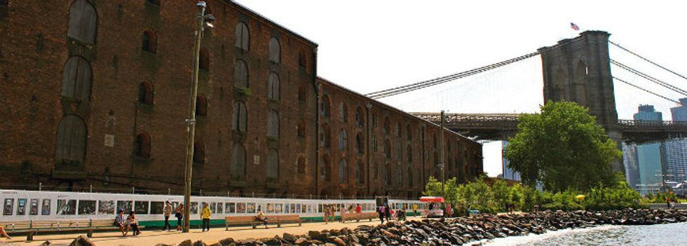 A 1,250-foot Photo Exhibit is Reopening at Brooklyn Bridge Park