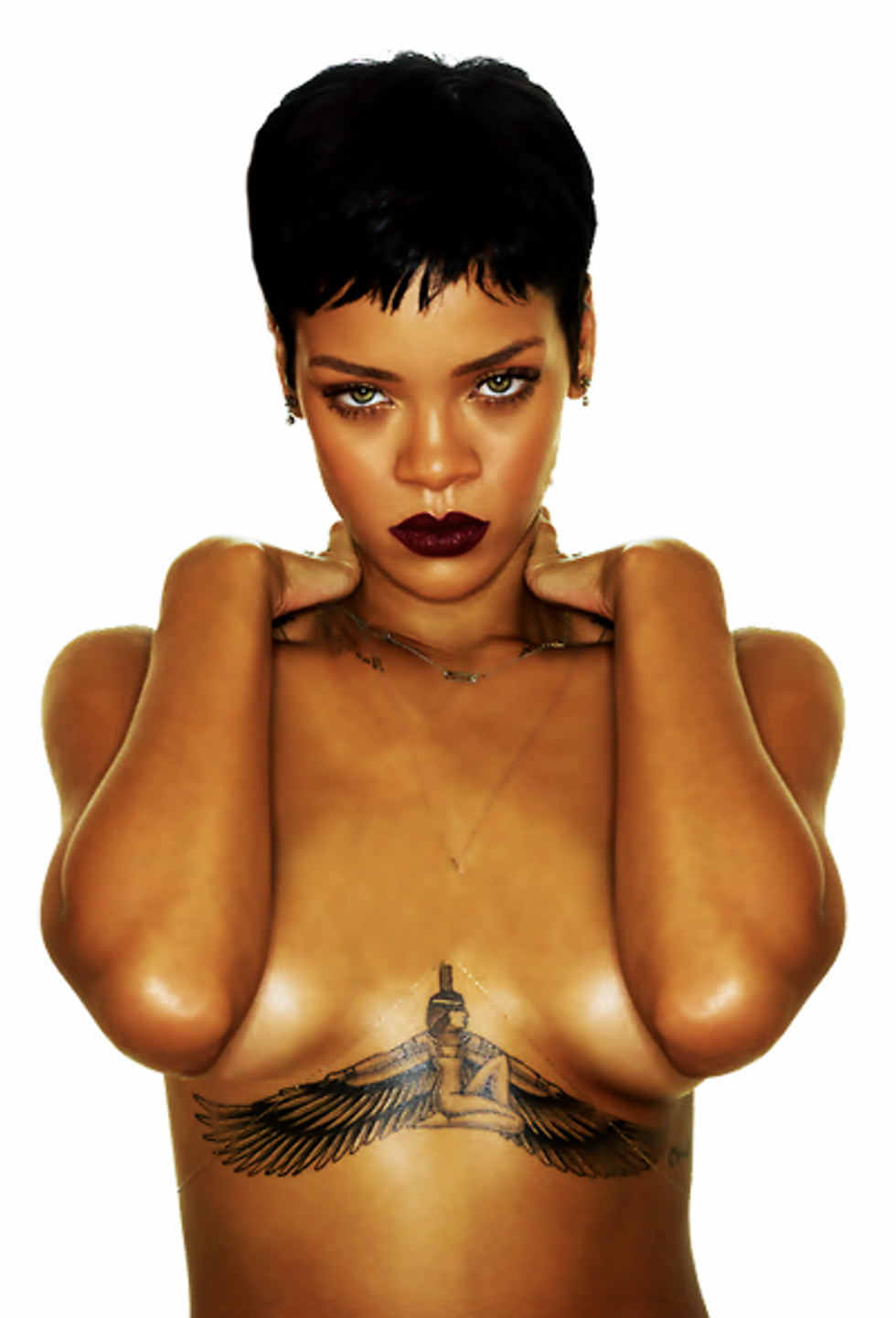 Be Bad Girl RiRi for a Day with her New Collection of Temporary Tattoos