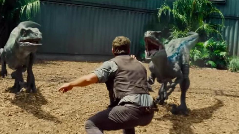 In a Desperate Attempt to Appear Cool, Zookeepers are Mimicking Chris Pratt