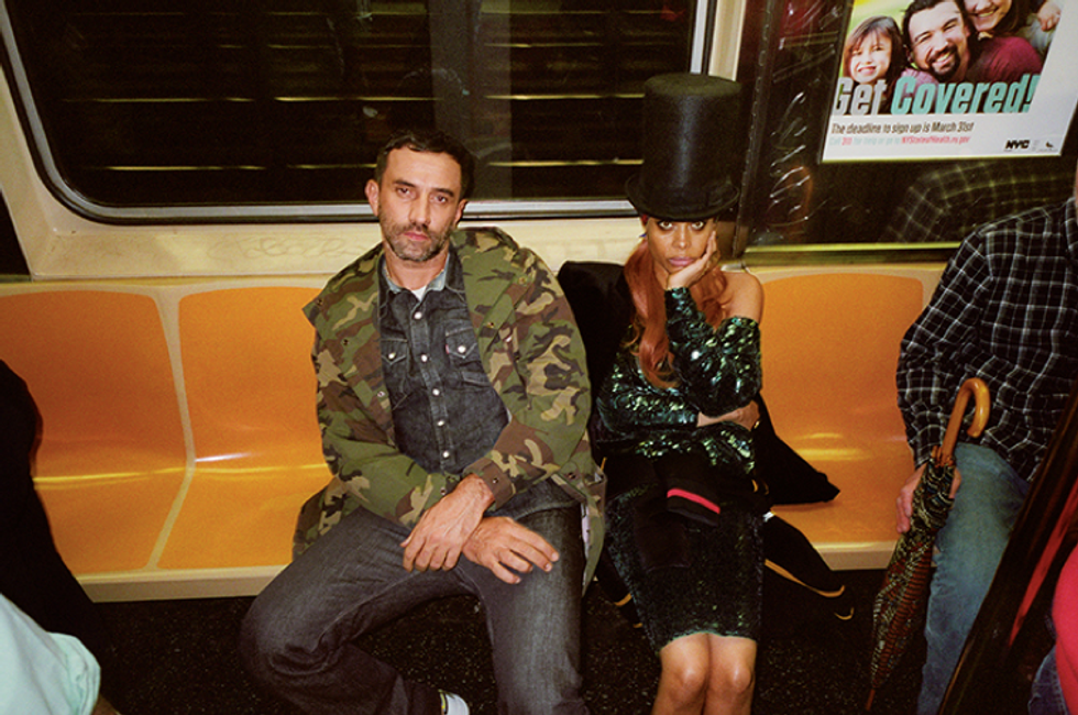Riccardo Tisci Brings Givenchy to NYC
