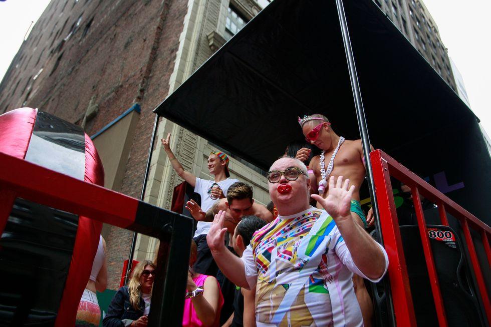 Mr. Mickey's Pride Parade Diary