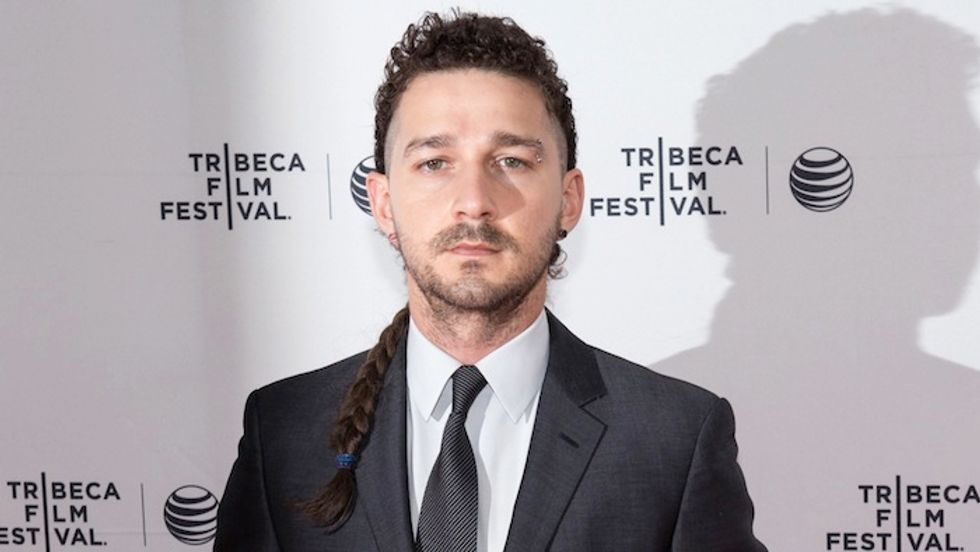 "Shia LaBeouf Accused of Plagiarizing (Again) on Viral ""Freestyle"""