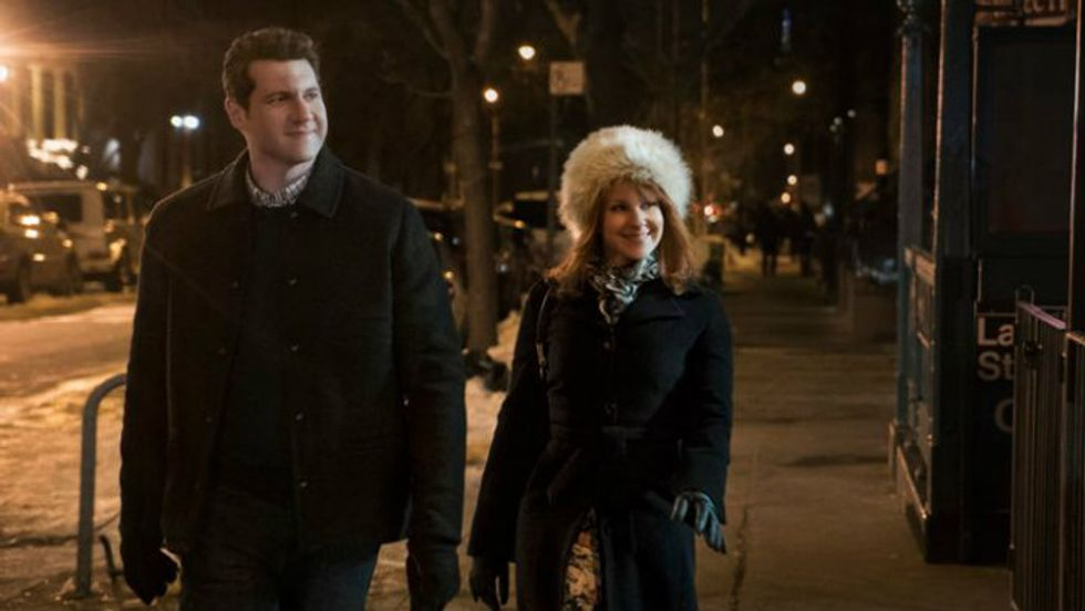 Watch Billy Eichner and Julie Klausner Be Difficult People Interrupting a Funeral