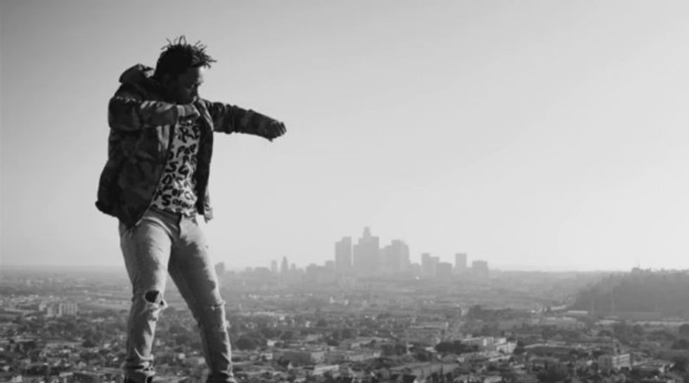 """Kendrick Lamar is Defying Gravity in His Confrontational Video for """"Alright"""""""