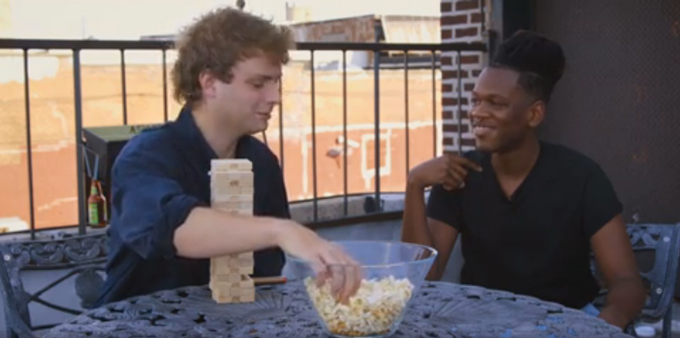 Watch Mac DeMarco and Shamir Interview Each Other, Play Jenga