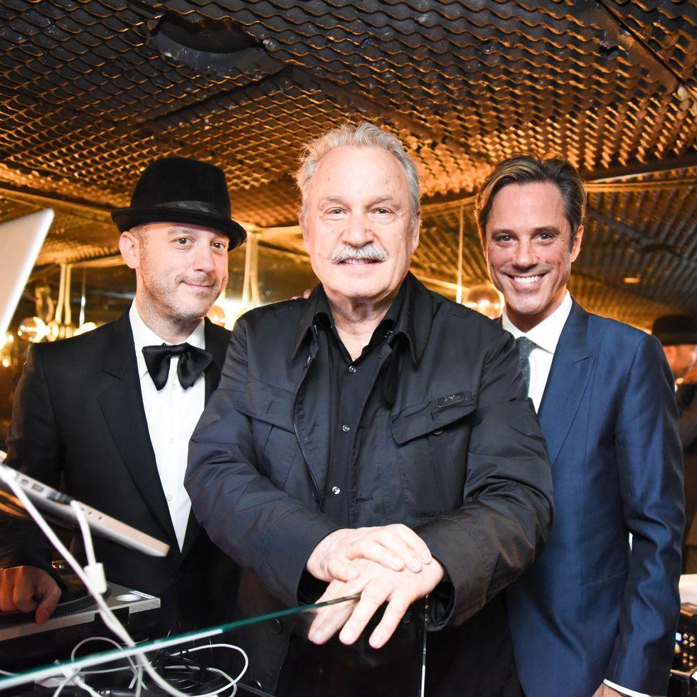 Scenes from Giorgio's Second Anniversary Party