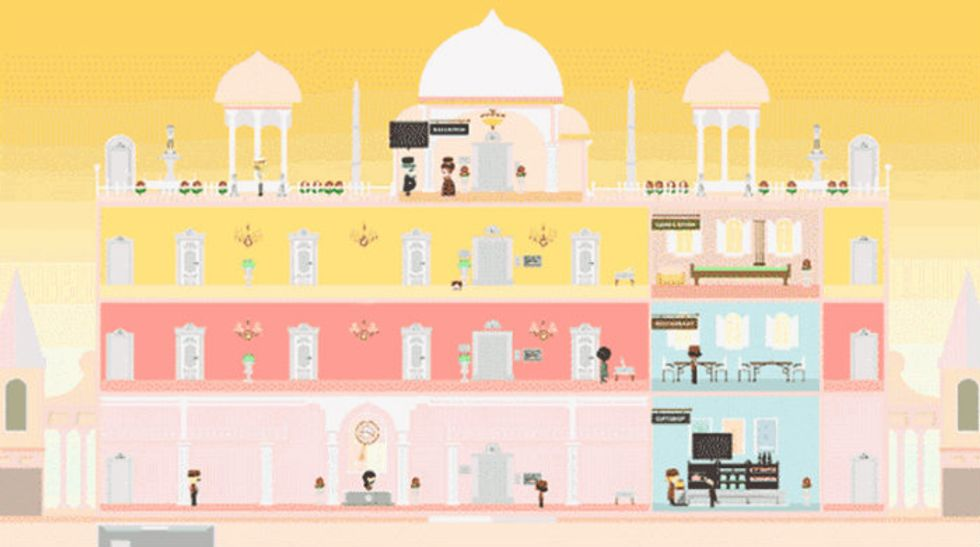 Play the Grand Budapest Hotel Game