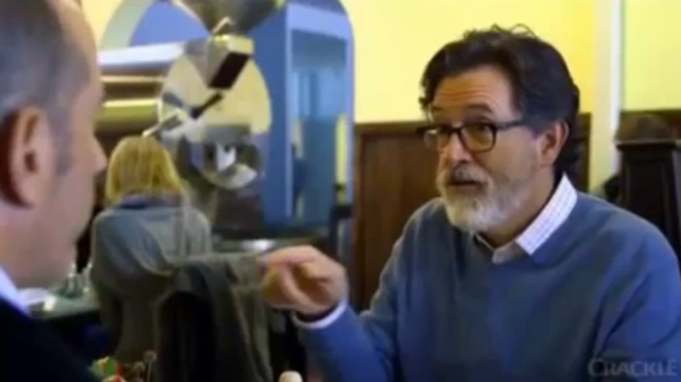 10 Things We Learned About Stephen Colbert From His 'Comedians In Cars Getting Coffee' Episode