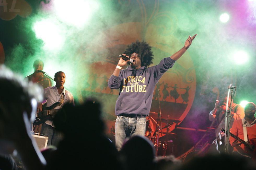 "Kenyan Electro-Funk Rocker Bill ""Blinky"" Sellanga On the African Music You Need to Hear"
