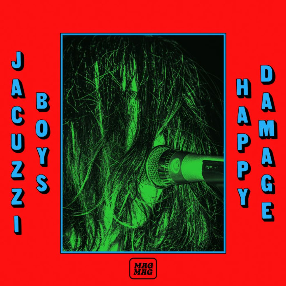 """Premiere: Watch Jacuzzi Boys Travel the Country in """"Happy Damage"""""""