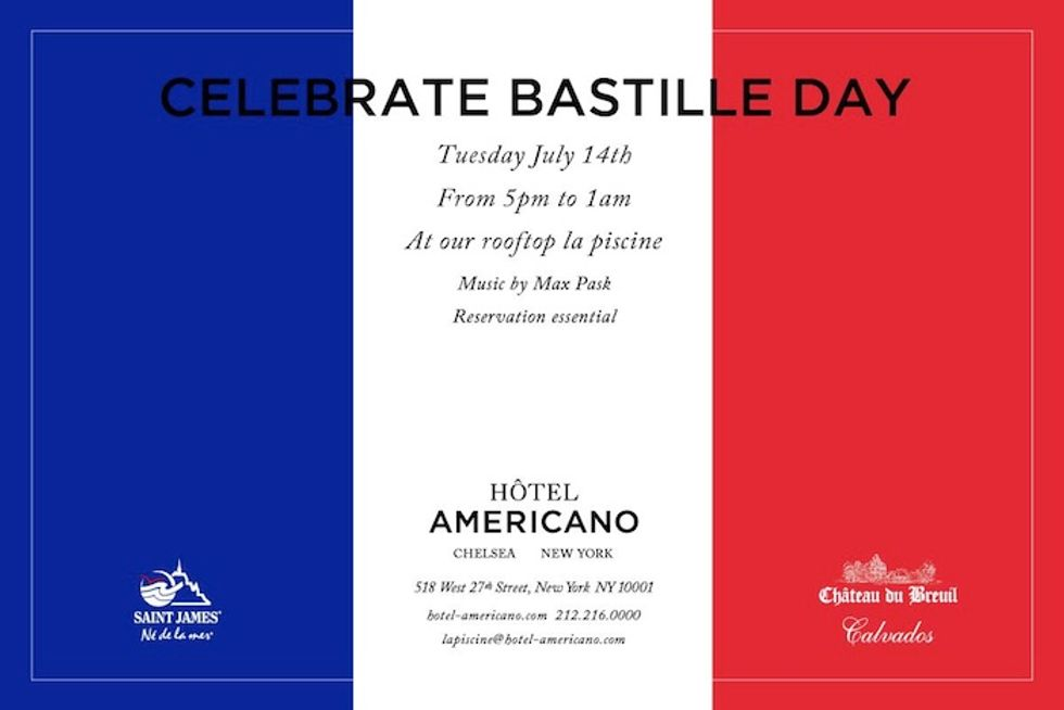 5 Last-Minute Ways to Celebrate Bastille Day In NYC