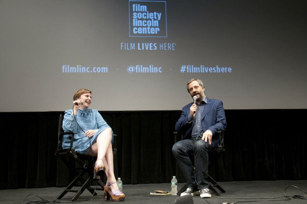 Dunham and Apatow on Comedy and Criticism