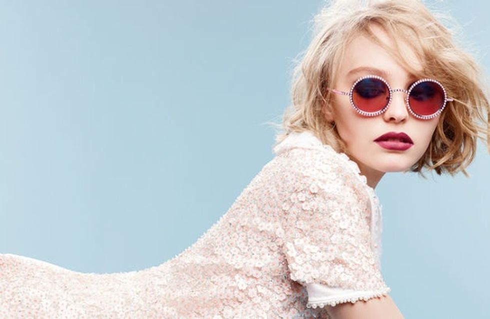 Lily-Rose Depp Is The New Face of Chanel Eyewear, Because Duh
