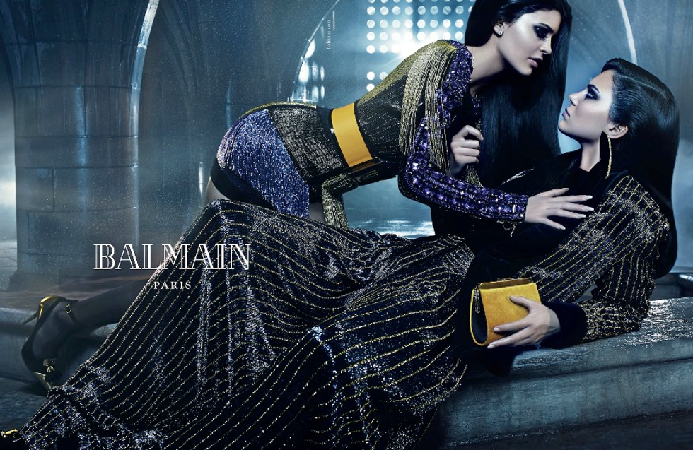 The New Balmain Campaign is a Sister (and Brother) Act