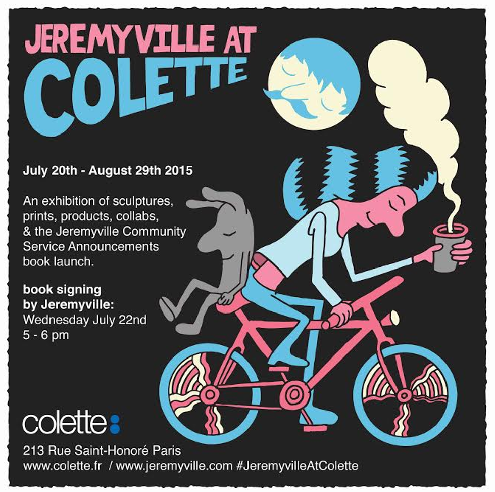 Check out Jeremyville's Adorable LeSportsac Collab with Colette