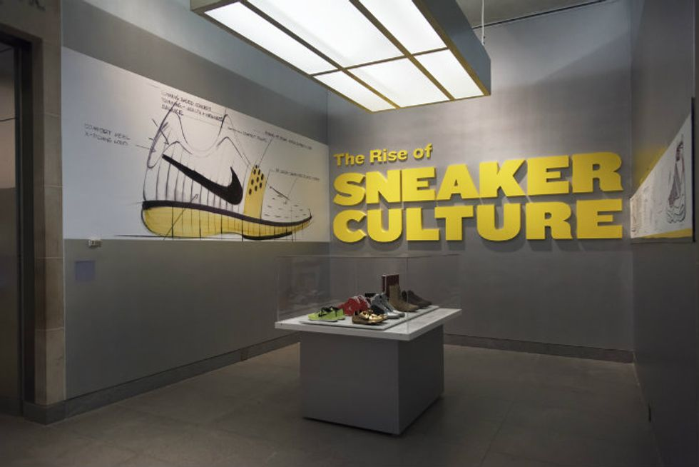 The Brooklyn Museum's Sneaker Exhibit is a Look at the History of Black Youth Culture