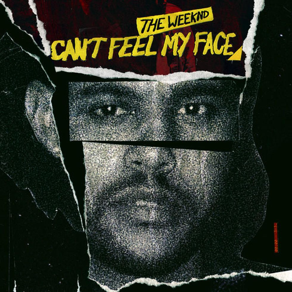 "Watch The Fiery New Video For The Weeknd's ""I Can't Feel My Face"""