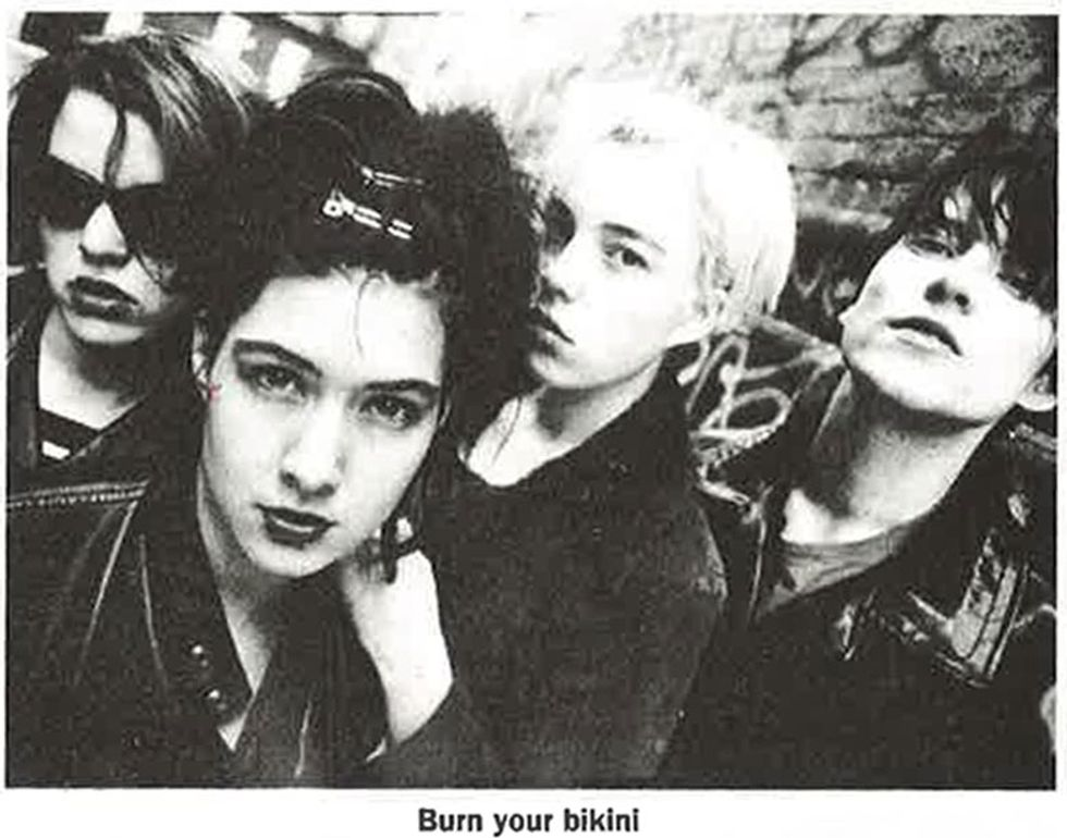 Bikini Kill Is Re-Issuing Their 1991 Demo Tape, Including 3 New Songs