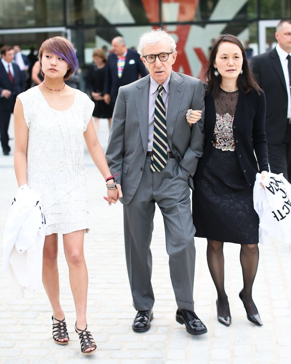 """Woody Allen Says His Relationship With Wife Soon Yi Is """"Paternal"""""""