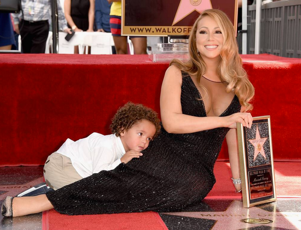 Mariah Carey's Son Crashed Her Walk Of Fame Moment