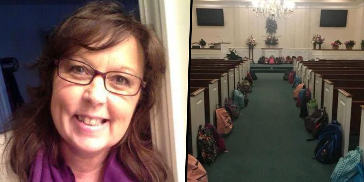Teacher Asks Kids To Bring School Supplies Instead of Flowers To Her Funeral