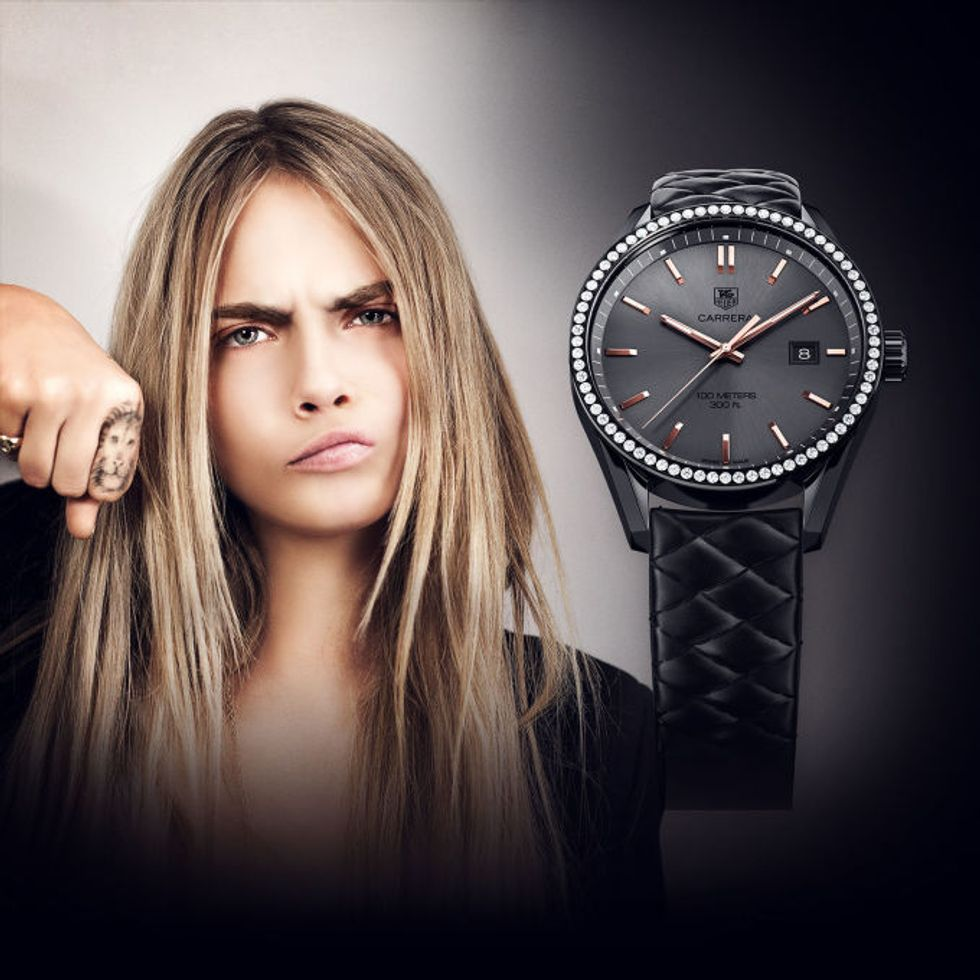 Cara Delevingne is Selling Her Watch for Cecil the Lion