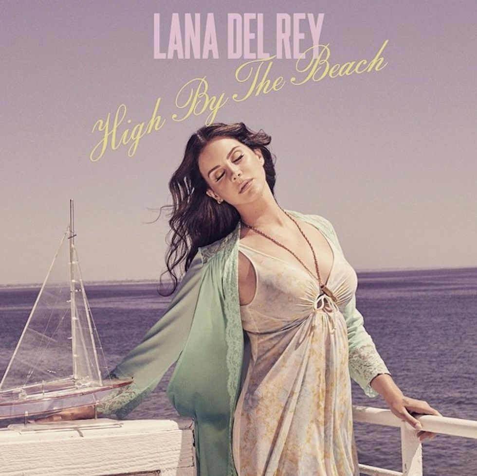 """Get """"High By The Beach"""" With Lana Del Rey's Hazy New Single"""
