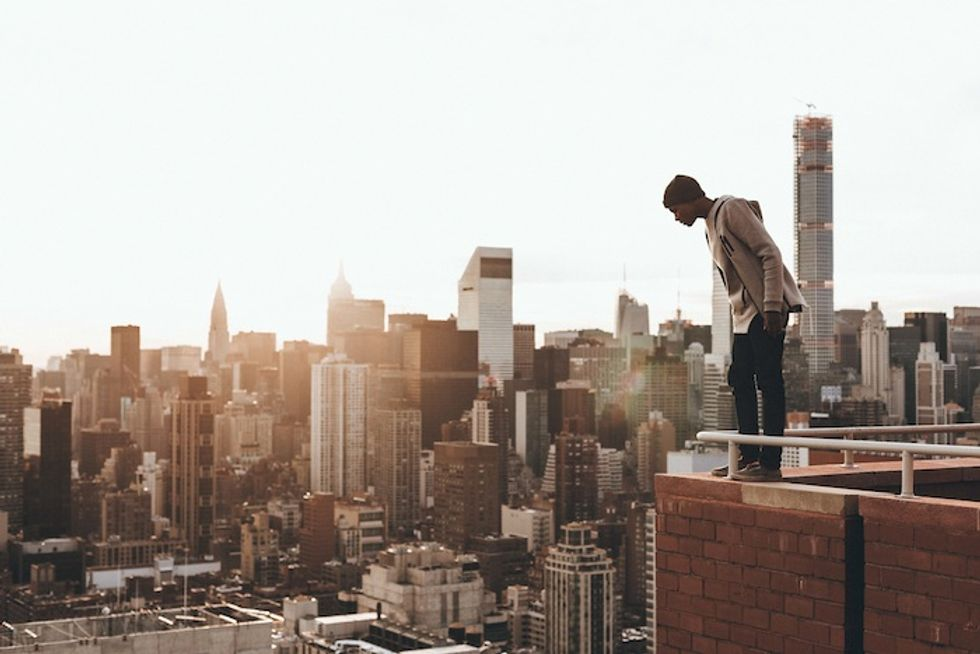 Meet Humza Deas, the 18-Year-Old Photographer Who Scales NYC's Buildings, Bridges and Subways In Pursuit of the Perfect Shot
