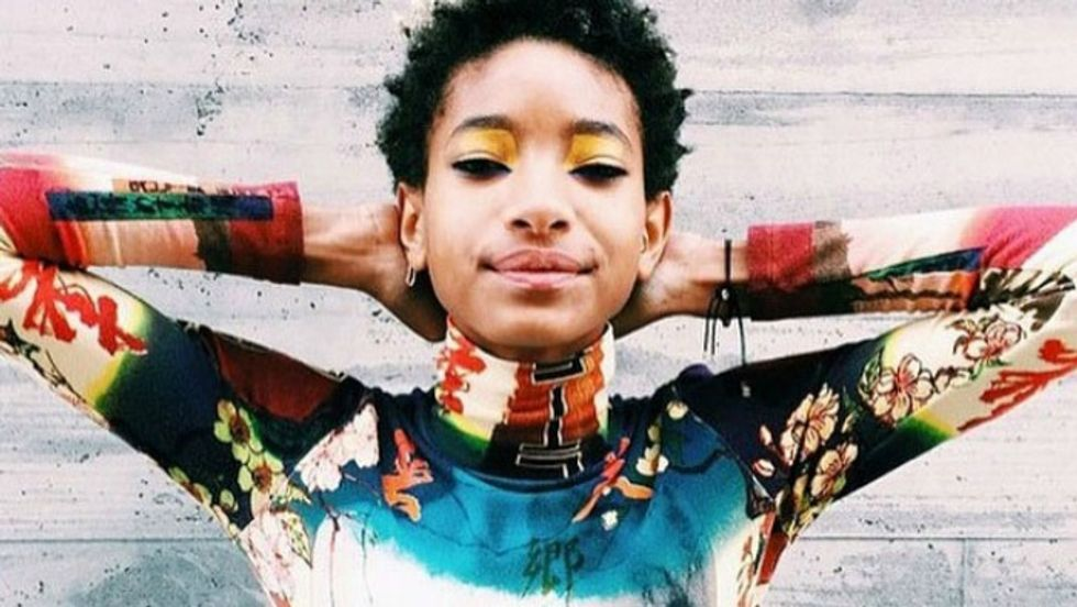 "Willow Smith's ""Wit A Indigo"" Video Is An Inverted, Alien Affair"
