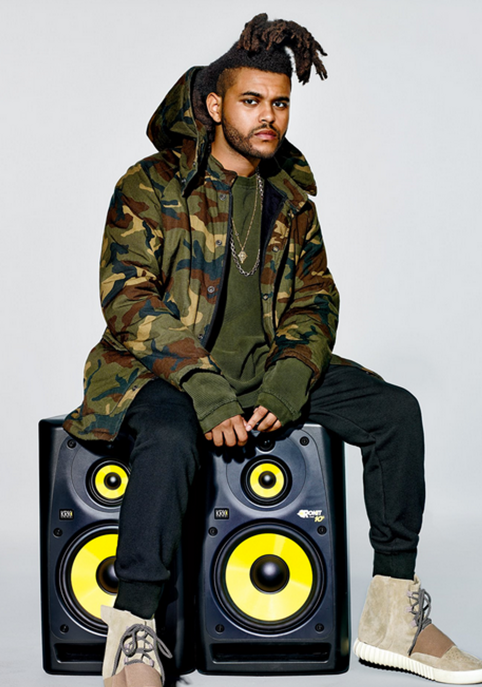Check Out The New Yeezy Collection Modeled By The Weeknd