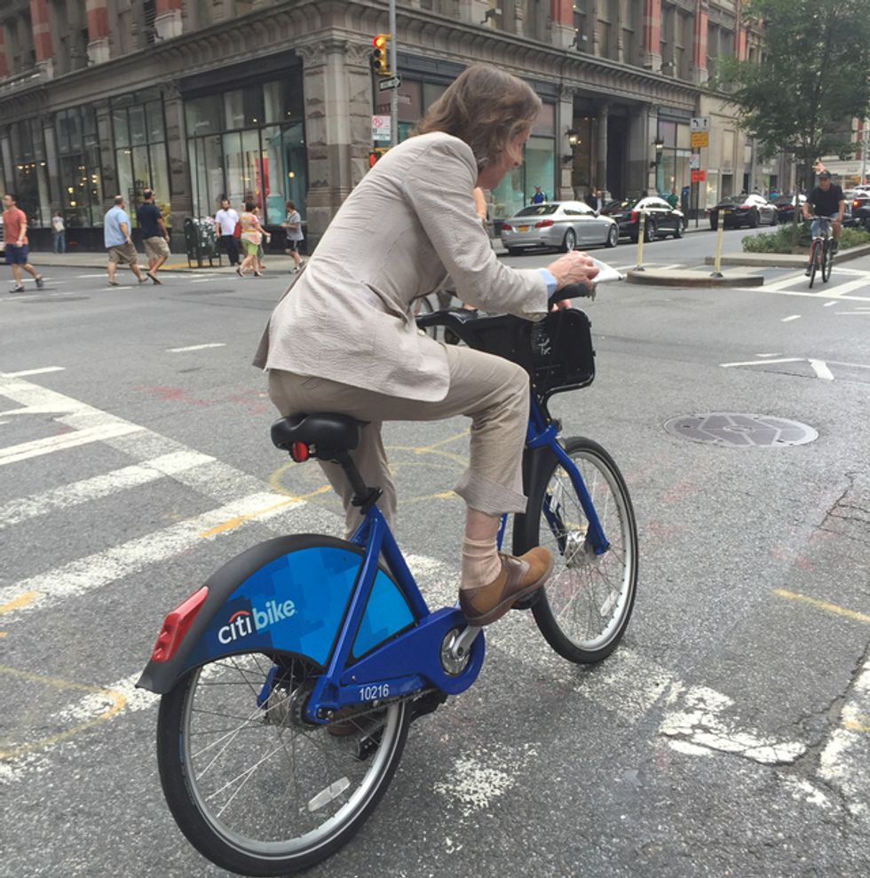 Wes Anderson's Citibike Cycling Wear Is Peak Wes Anderson