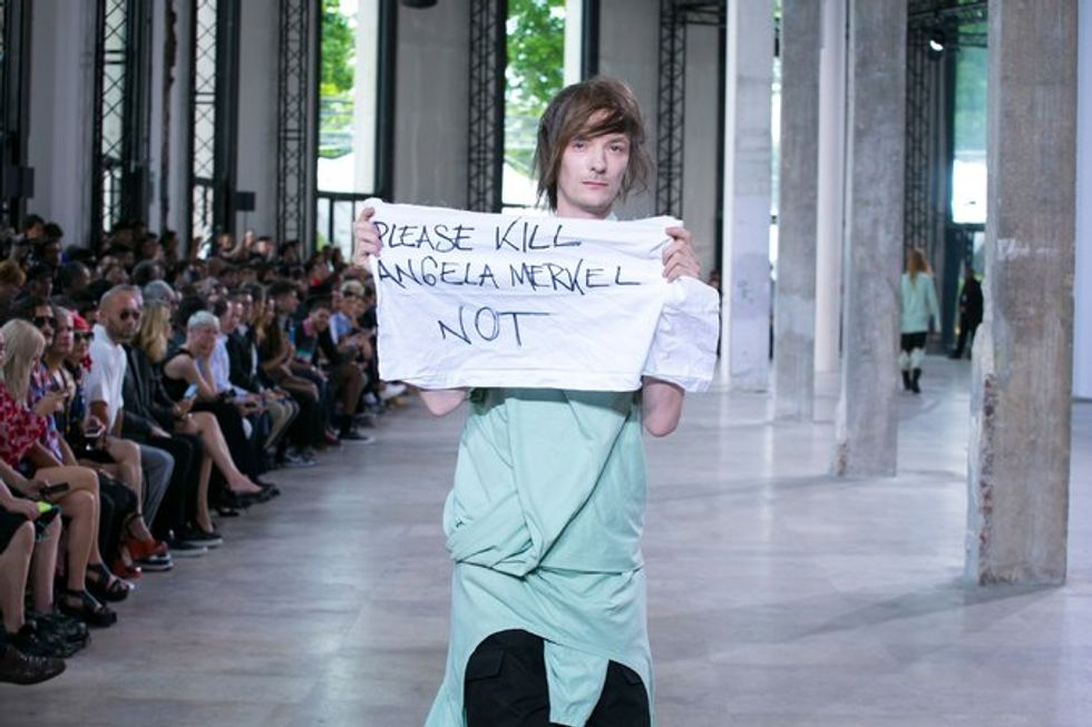 Rick Owens Finally Speaks Up About Punching That Rogue Model