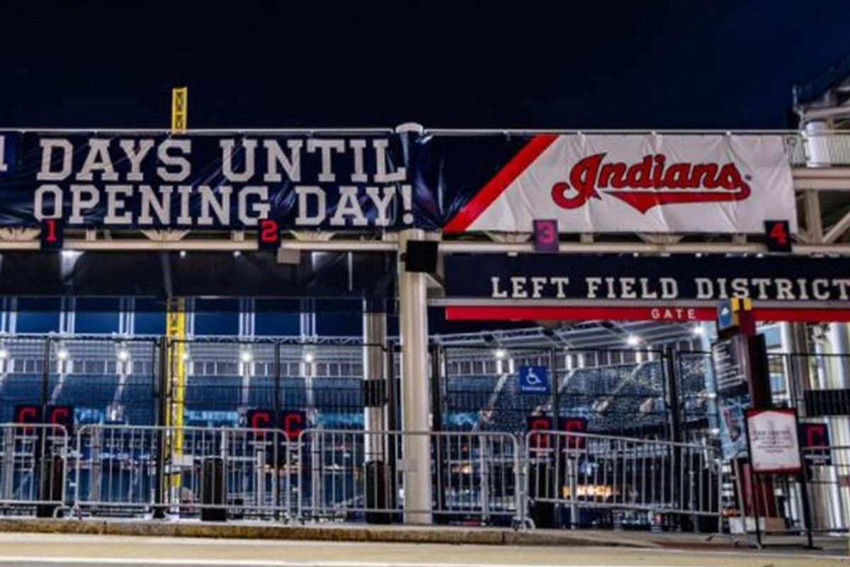The Cleveland Indians have banned red-face paint and headdresses ahead of Opening Day