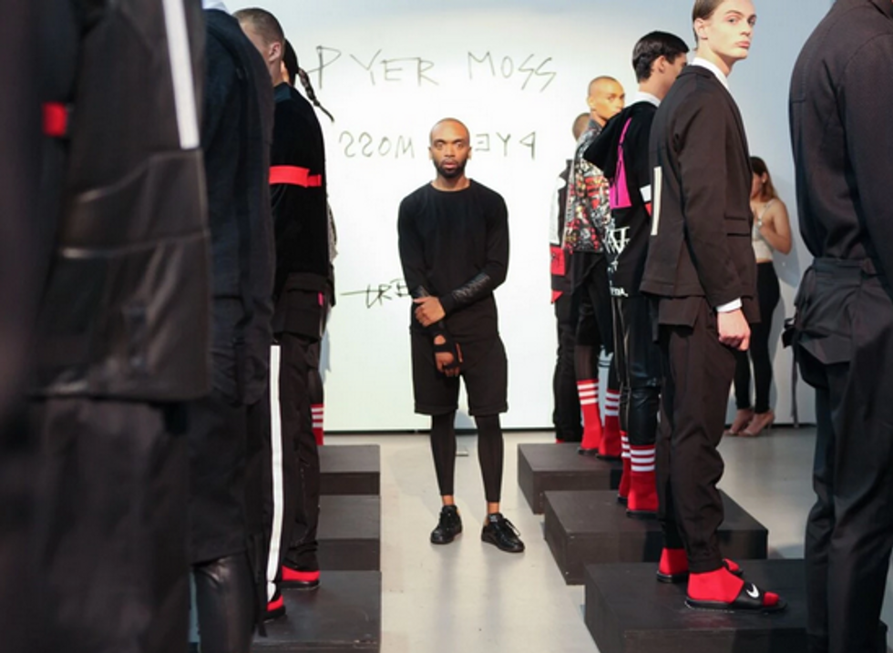 Pyer Moss Is Going to Address Racial Politics In Its Debut NYFW Womenswear Show