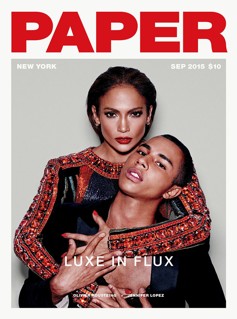 Introducing Our September Cover Stars: Olivier Rousteing, Jennifer Lopez, Jeremy Scott and CL
