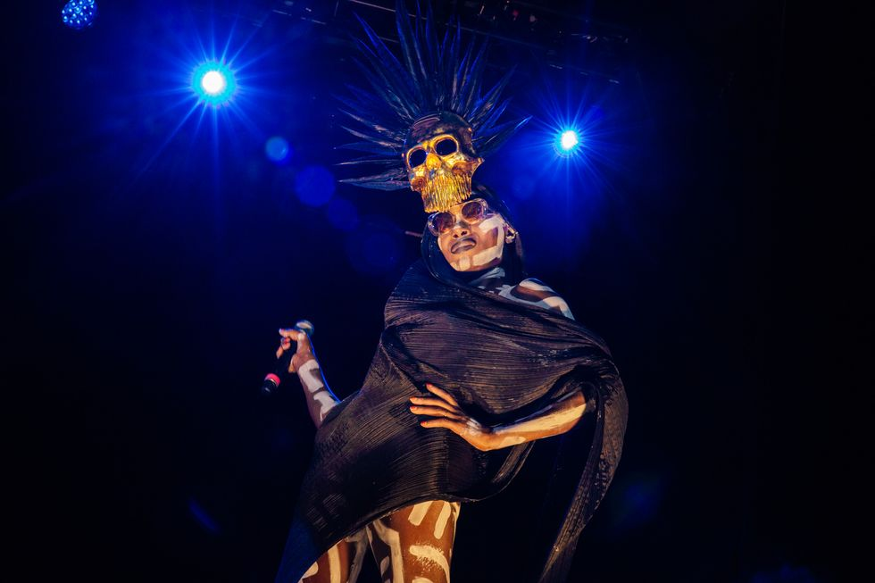 Scenes from the Afropunk Fancy Dress Ball