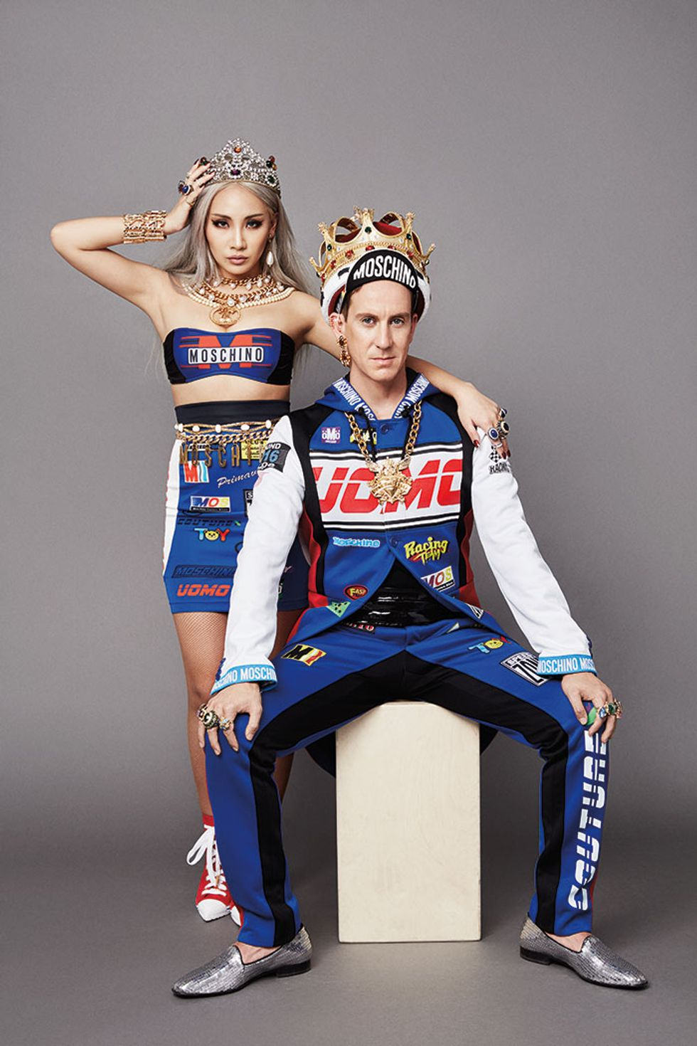 Ballena barba Genuino Acrobacia  Jeremy Scott and CL On Moschino, Pop Culture and the Power Of ...