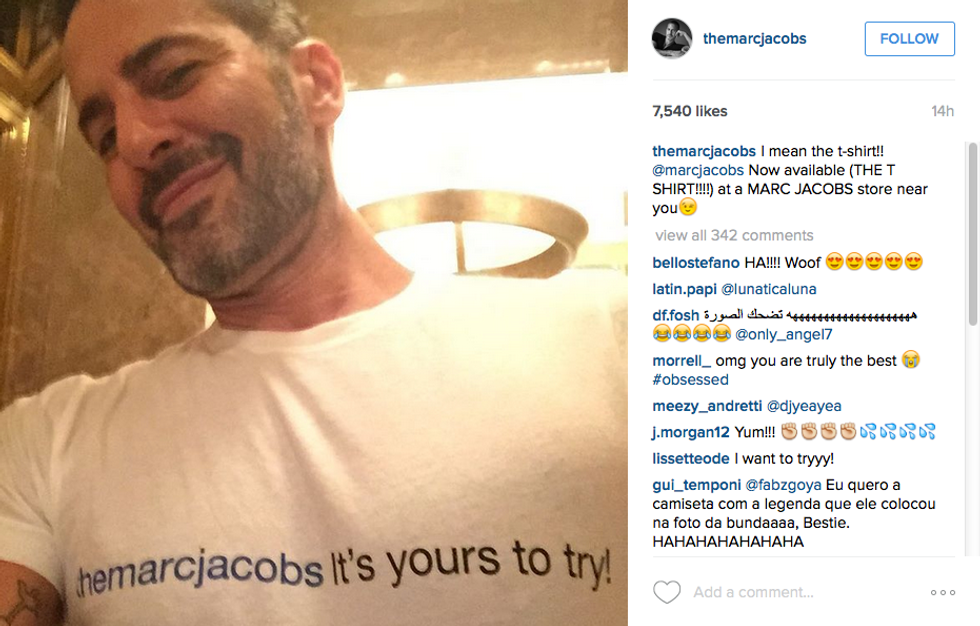Marc Jacobs' New T-Shirt Is Yours to Try