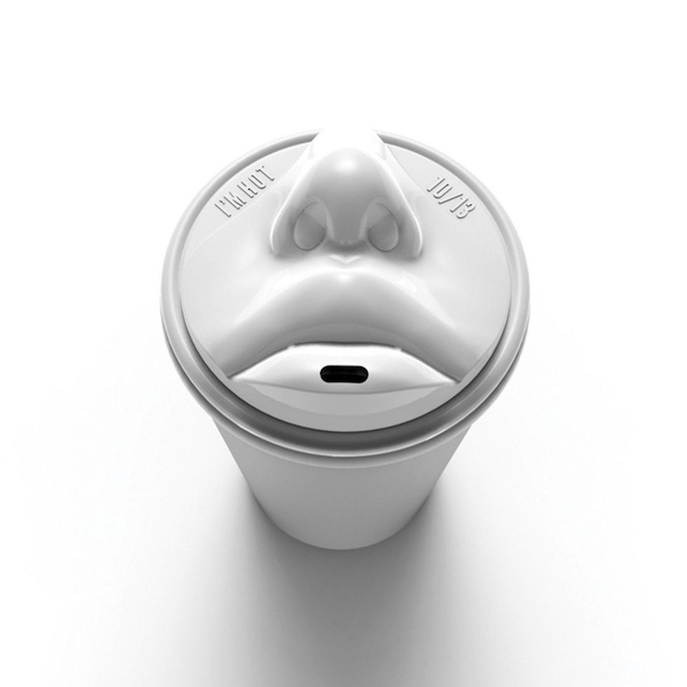 Is This New Lip-Shaped Coffee Cup Creepy Or Cute?