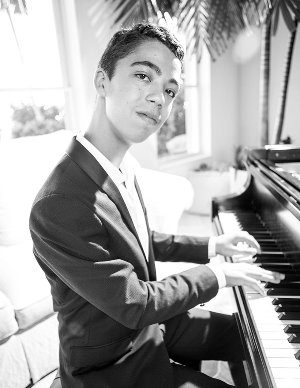 At Home With Ethan Bortnick, the 14-Year-Old Piano Prodigy and Multimillion-Dollar Philanthropist