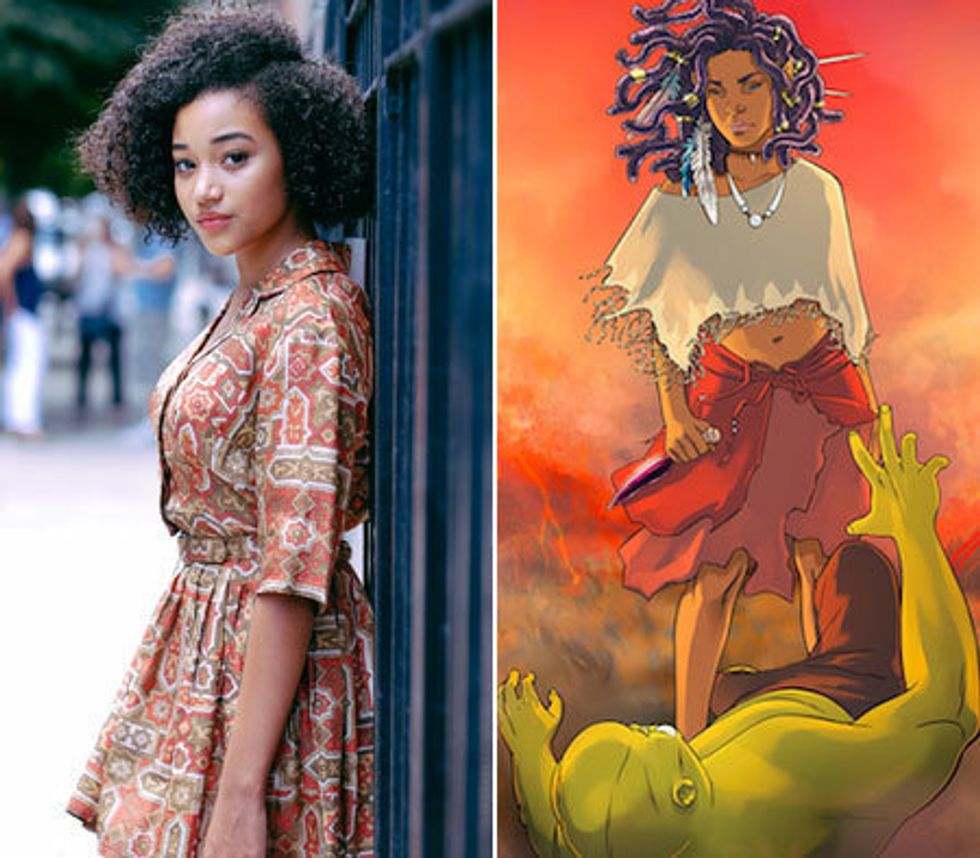 Amandla Stenberg Is Creating A Comic For Girls Of Color