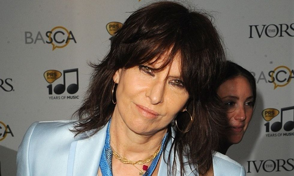 Chrissie Hynde Defends Her Rape Comments In New Interview
