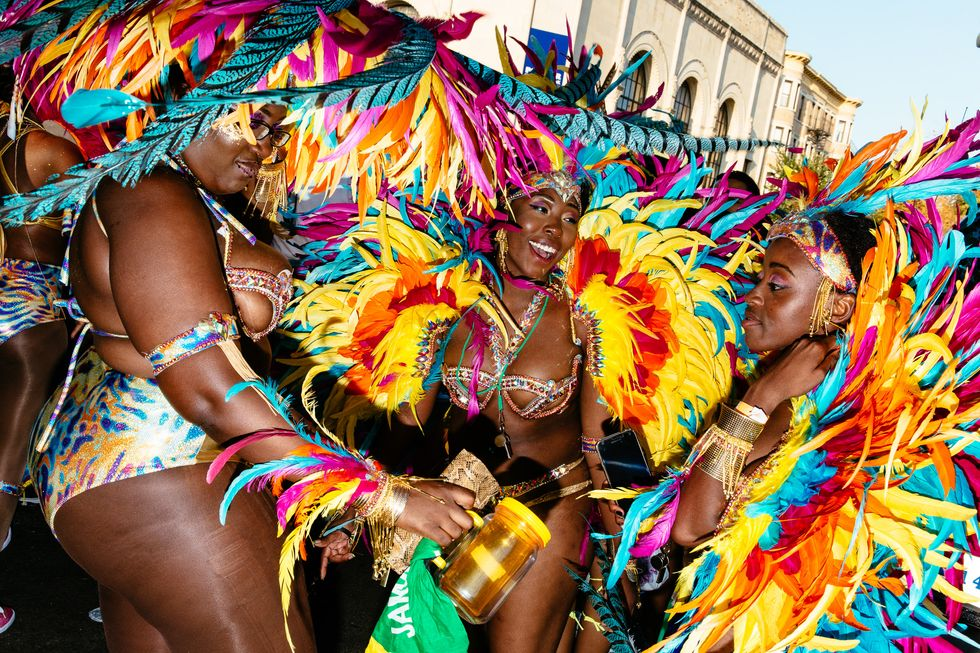 Scenes from the West Indian Day Parade